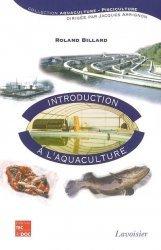 Souvent acheté avec Salmonidés d'aquaculture, le Introduction à l'aquaculture