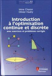 Dernières parutions sur Statistiques, Introduction à l'optimisation continue et discrète