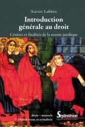 Dernières parutions sur Introduction historique au droit, Introduction générale au droit