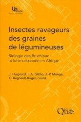 Dernières parutions dans Update, Insectes ravageurs des graines de légumineuses