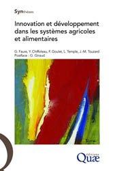 Dernières parutions sur Agronomie, Innovation et développement dans les systèmes agricoles et alimentaires