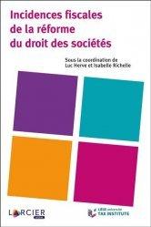 Dernières parutions sur Droit des sociétés, Incidences fiscales de la réforme du droit des sociétés