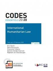 Dernières parutions sur Droit international public, International Humanitarian Law. Edition 2020