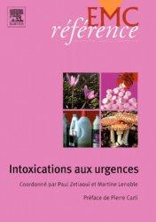 Dernières parutions sur Urgences toxicologiques, Intoxications aux urgences