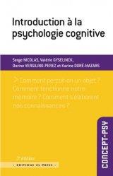 Dernières parutions dans Concept-psy, Introduction à la psychologie cognitive