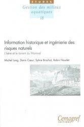Dernières parutions dans Les Études, Information historique et ingénierie des risques naturels. L'Isère et le torrent du Manival