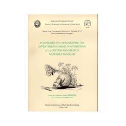 Dernières parutions sur Invertébrés, Inventaire et cartographie des invertébrés comme contribution à la gestion des milieux naturels français