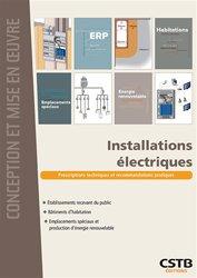 Souvent acheté avec Maçonnerie pratique, le Installations électriques
