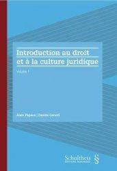 Dernières parutions sur Droit international privé, Introduction au droit et à la culture juridique