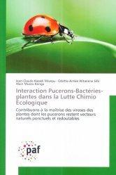 Souvent acheté avec Guide Peterson des oiseaux de France et d'Europe, le Interaction Pucerons-Bactéries-plantes dans la Lutte Chimio Écologique