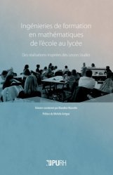Dernières parutions sur Questions d'éducation, Ingénieries de formation en mathématiques de l'école au lycée