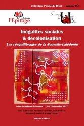 Dernières parutions dans L'unité du droit, Inégalités sociales & décolonisation. Les rééquilibrages de la Nouvelle-Calédonie