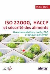Souvent acheté avec Agroalimentaire et risques sanitaires, le ISO 22000, HACCP et sécurité des aliments