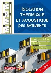 Dernières parutions sur Isolation - Acoustique, Isolation thermique et acoustique des bâtiments