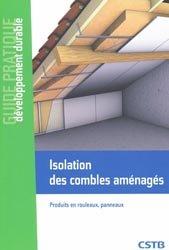 Dernières parutions dans Guide pratique développement durable, Isolation des combles aménagés