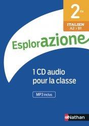 Dernières parutions sur Méthodes de langues (scolaire), Italien 2de Esplorazione
