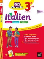 Dernières parutions dans chouette, Italien 3e LV2