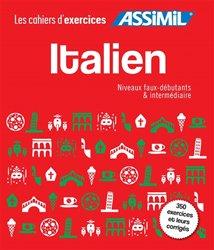 Dernières parutions dans Cahiers d'exercices, Italien : faux-débutants & intermédiaire