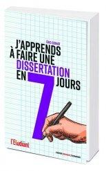 Dernières parutions sur Expression écrite, J'apprends à faire une dissertation en 7 jours !