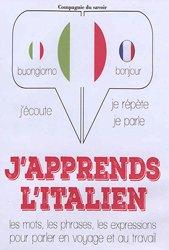 Dernières parutions sur Auto apprentissage (parascolaire), J'apprends l'italien