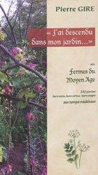 Dernières parutions sur Histoire des jardins - Jardins de référence, J'ai descendu dans mon jardin...