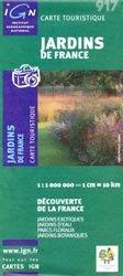 Dernières parutions dans Carte touristique, Jardins de France