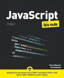 Dernières parutions sur Techniques de programmation, JavaScript, pour les nuls