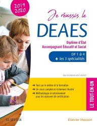 Souvent acheté avec DEAES DF 1 à 4 2020-2021, le Je réussis le DEAES