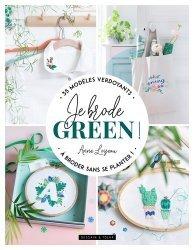 Dernières parutions sur Art textile, Je brode green !
