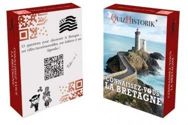 Nouvelle édition Jeu de cartes Connaissez-vous la Bretagne ?