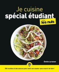 Dernières parutions dans Pour les nuls, Je cuisine spécial étudiant pour les nuls
