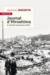 Dernières parutions dans Texto, Journal d'Hiroshima. 6 août - 30 septembre 1941