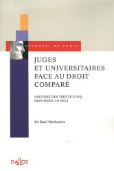 Dernières parutions dans Méthodes du droit, Juges et universitaires face au droit comparé. Histoire des trente-cinq dernières années