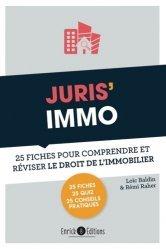 Dernières parutions sur Immobilier et droit de la construction, Juris' Immo. 25 fiches pour comprendre et réviser le droit immobilier