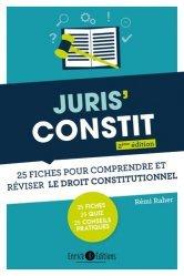 Dernières parutions sur Droit constitutionnel, Juris'Constit