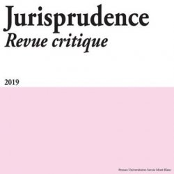 Dernières parutions sur Autres ouvrages de philosophie du droit, Jurisprudence Revue critique N° /2019