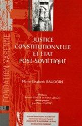 Dernières parutions dans Thèses Ecole doctorale CF, Justice constitutionnelle et Etat post-soviétique