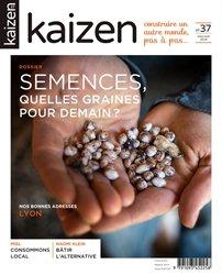 Dernières parutions dans Kaizen, kaizen 37 Semences, quelles graines pour demain ?