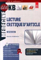 Souvent acheté avec UE ECN+ Lecture critique d'article, le KB / iKB Lecture critique d'article