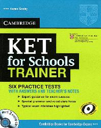 Dernières parutions dans KET for Schools Trainer, KET for Schools Trainer - Six Practice Tests with Answers, Teacher's Notes and Audio CDs (2)