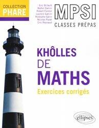 Dernières parutions dans Phare, Khôlles de maths MPSI