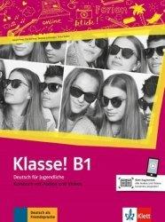 Dernières parutions sur Méthodes de langue (scolaire), Klasse! B1 - Livre de l'élève + audios   videos