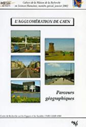 Dernières parutions dans Cahiers de la MRSH, L' agglomération de Caen, parcours géographique