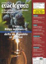 Dernières parutions dans revue des oenologues, L'eau : rôles majeurs et défis au vignoble et au chai