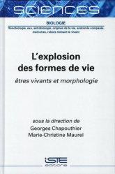 Dernières parutions sur Sciences de la Vie, L'explosion des formes de vie