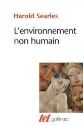 Dernières parutions dans Tel, L'environnement non humain