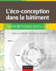 Dernières parutions sur Techniques de construction durable, L'éco-conception dans le bâtiment