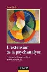 Dernières parutions dans Psychismes, L'extension de la psychanalyse