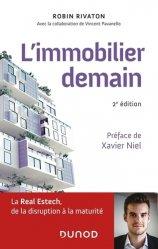 Dernières parutions sur Immobilier et droit de la construction, L'immobilier demain. 2e édition