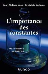Dernières parutions sur Cosmologie, L'importance des constantes